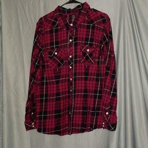 Torrid flannel shirt